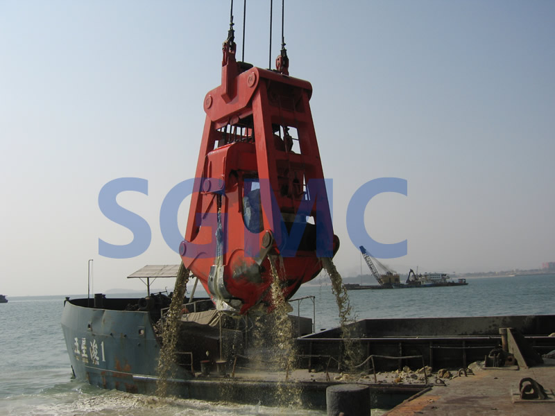 Dredging Clamshell Grab