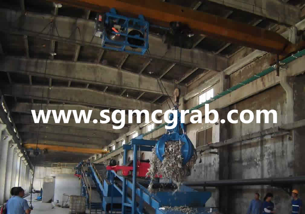 Hydraulic Hose Reel And Grab System
